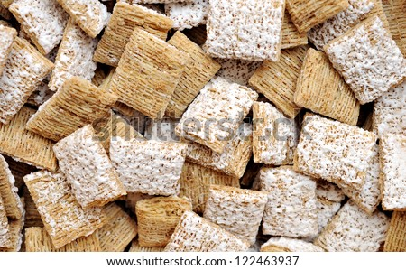 frosted wheat cereals for background uses
