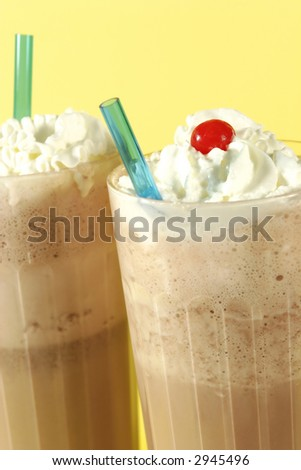 frosty chocolate shakes