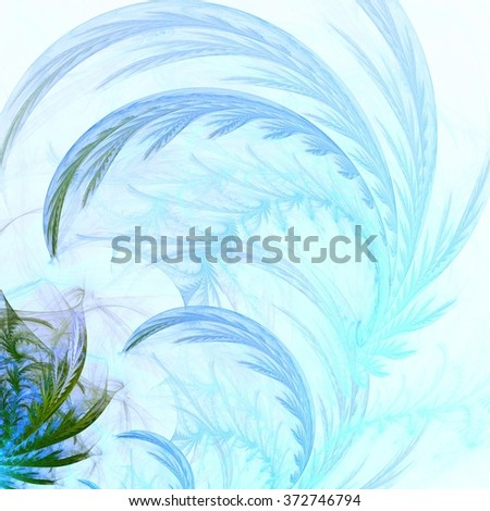 frosty pattern.Abstract fractal background