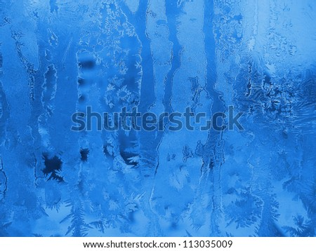 Frozen glass texture