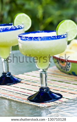 Frozen Margaritas - stock photo