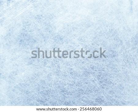 Frozen scratched texture. Grunge concrete background - stock photo