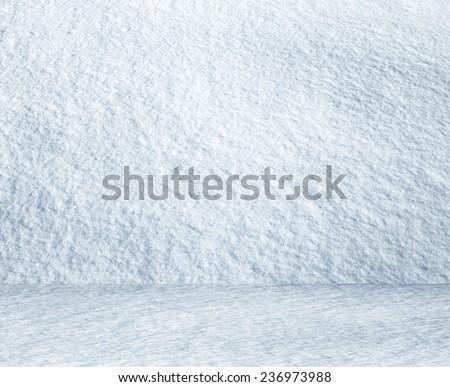 frozen snow room, christmas background  - stock photo