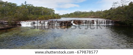 Fruit Bat Falls Cape York Peninsula Australia