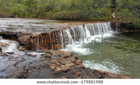 Fruit Bat Falls is in the remote area of North Queensland, north of Cairns