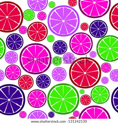 Fruit design seamless pattern.  illustration. EPS 10