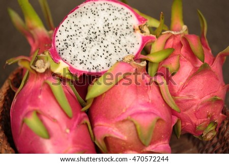 fruit, dragon fruit sweet