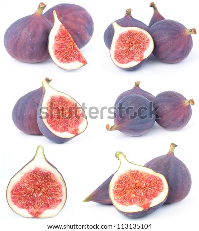 Fruit figs - stock photo