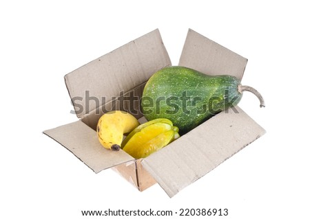 Fruit in The old box