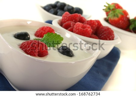 fruit jogurt