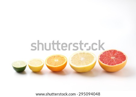 fruit lined