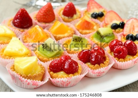 Fruit pastries