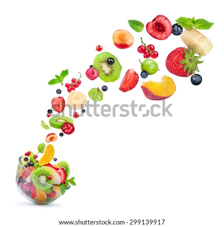 Fruit-salad Stock Images, Royalty-Free Images & Vectors | Shutterstock