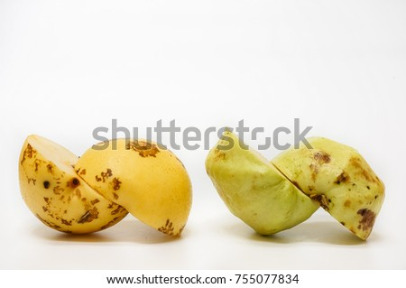 fruits for healthier isolated on white