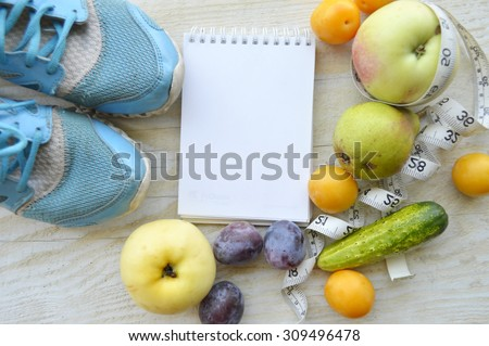 fruits for weight loss, a measuring tape, diet, weight loss, healthy eating, healthy lifestyle concept