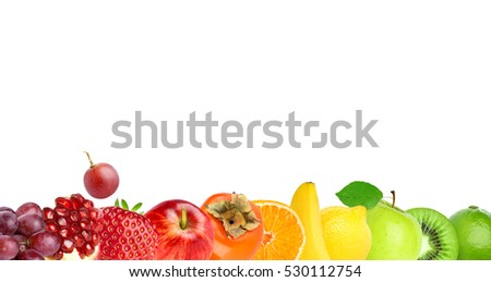 Fruits. Fresh food. Concept
