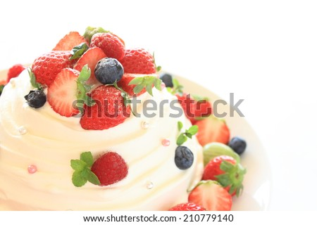 fruits shortcake