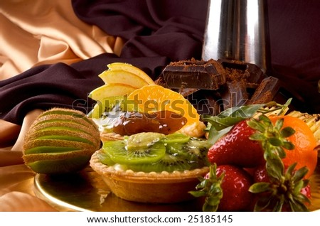 fruits tart collection