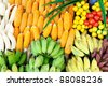Fruits & Vegetables. Healthy eating series. - stock photo