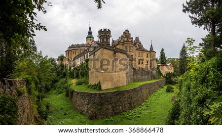 FRYDLANT, CZECH REPUBLIC - CIRCA JUNE 2015: Frydlant Castle