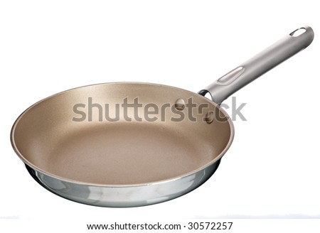 frying pan - stock photo