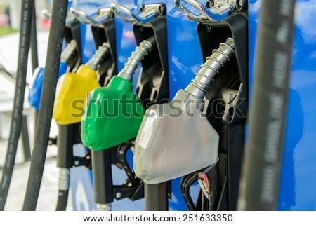 Fuel nozzle  - stock photo