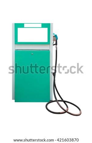 Fuel pump. - stock photo
