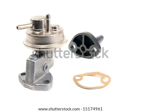 Fuel pump and accessories for air cooled volkswagen engine
