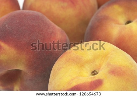Full frame image of fresh and healthy peaches