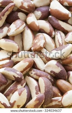 Full Frame Shot Of Shelled Brazil Nuts