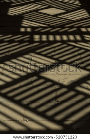 Full Frame Shot Of Wood With Sunlight