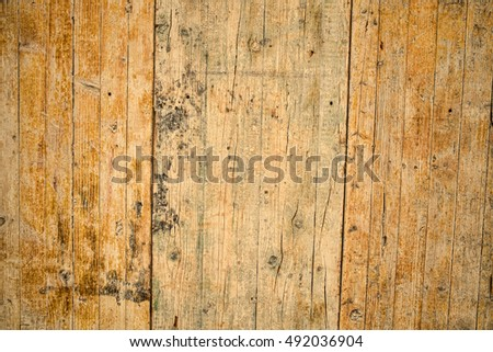 Full frame take of the texture of some old wooden planks