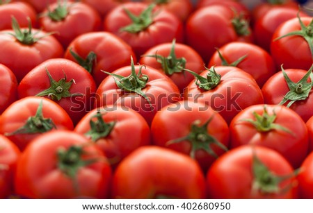 full frame tomatoes background