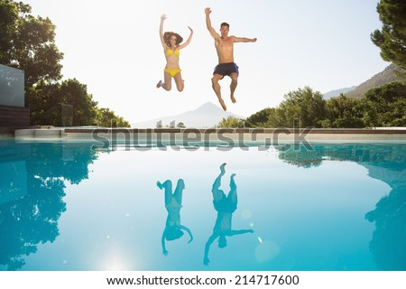 Pool fun stock images royalty free images vectors for Swimming pool drawing