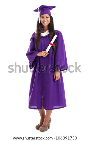 Cap And Gown Isolated Stock Images, Royalty-Free Images & Vectors ...
