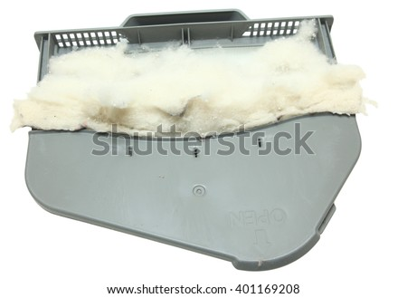 Full Lint Trap Isolated Over White