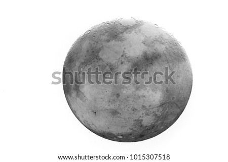 Full Moon of the month / The Moon is an astronomical body that orbits planet Earth, being Earth's only permanent natural satellite