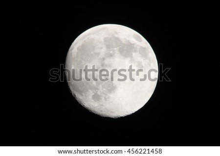 Full moon viewed from Florida