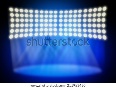 Full stage light background
