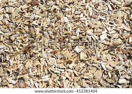 fullframe background of wood chips