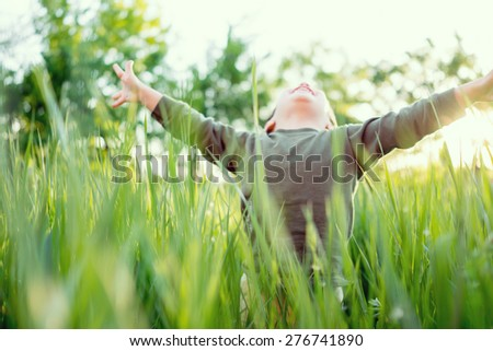 Fun and happiness - stock photo
