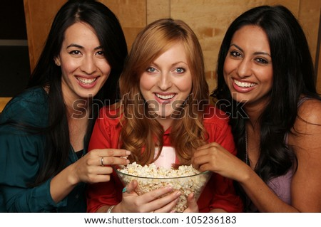 Fun Movie Night with Girlfriends