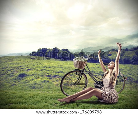 fun outing - stock photo