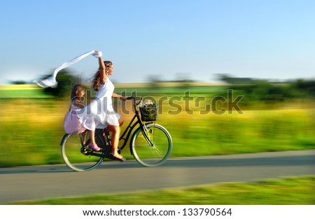 Fun together - stock photo