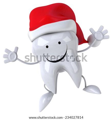 Fun tooth - stock photo