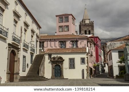 Funchal, Madeira cityscape - stock photo