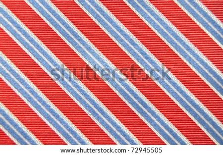 Fund textured striped fabric - stock photo