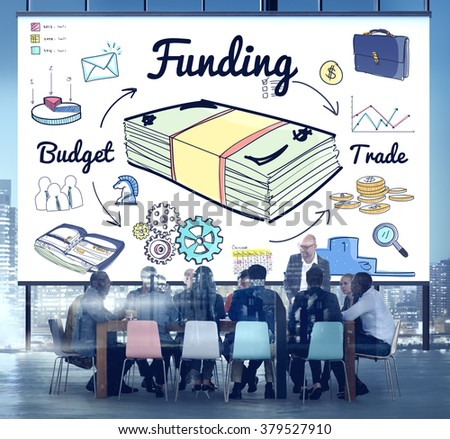 Funding Banking Budget Credit Financial Concept - stock photo
