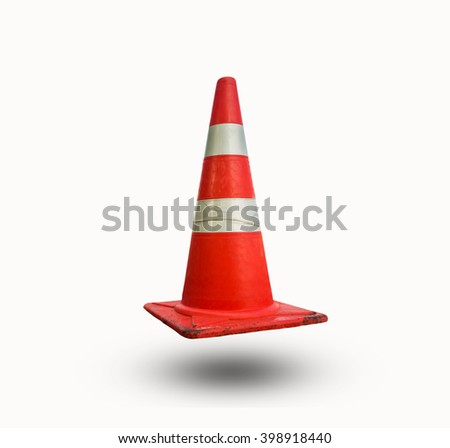 Funnel isolated on white background. - stock photo