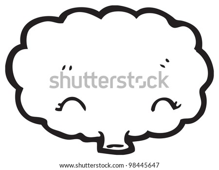 funny cartoon cloud